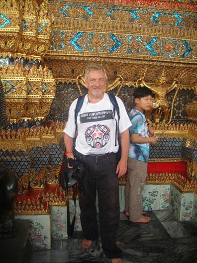 Joseph at the Grand Palace in Bangkok